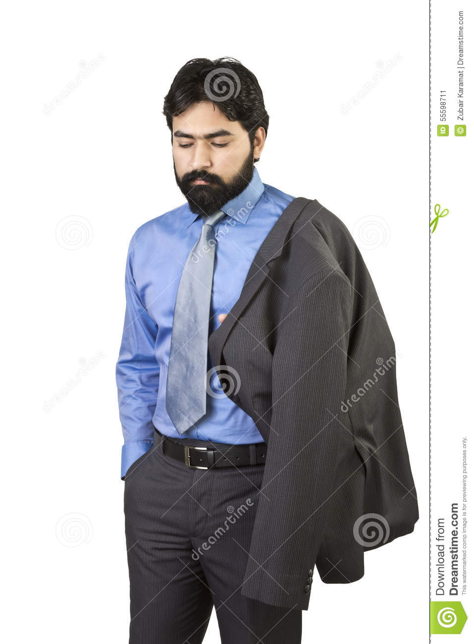 Dejected Young Man After Being Rejected Royalty Free Stock