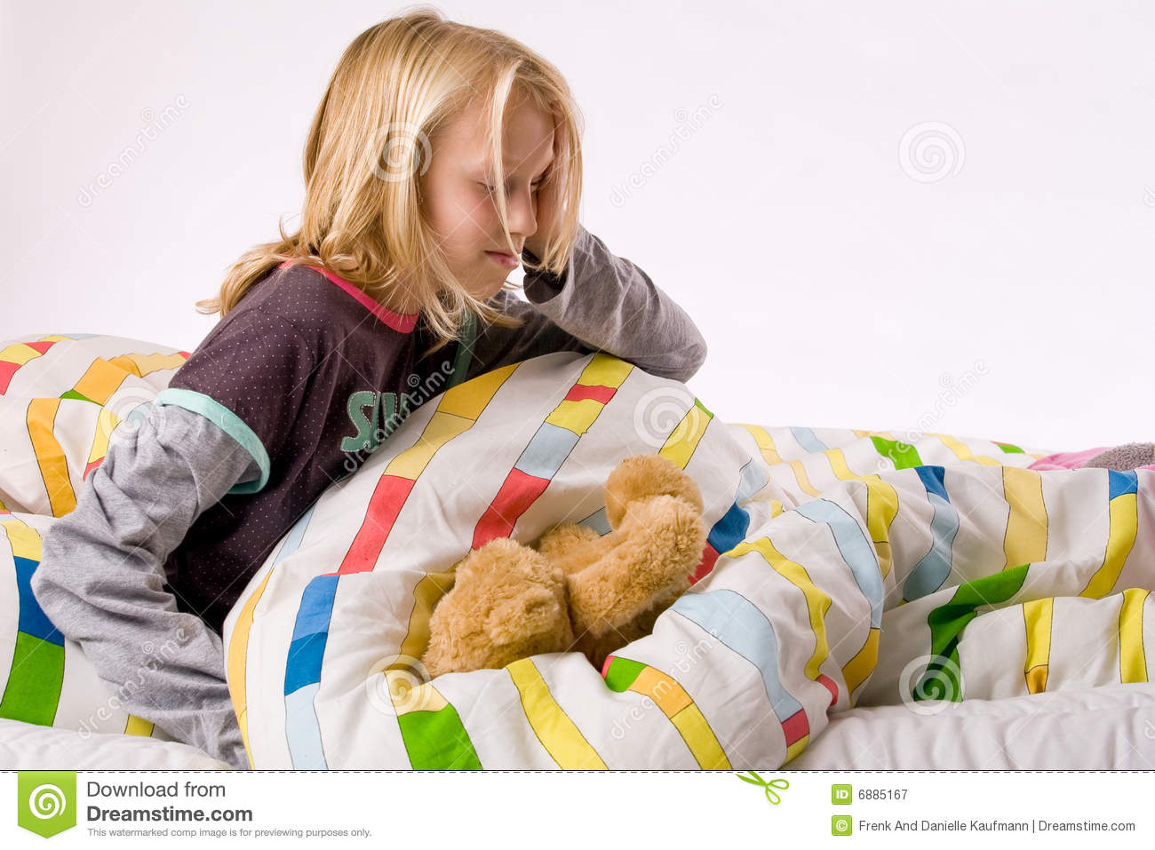 child waking up - photo #16