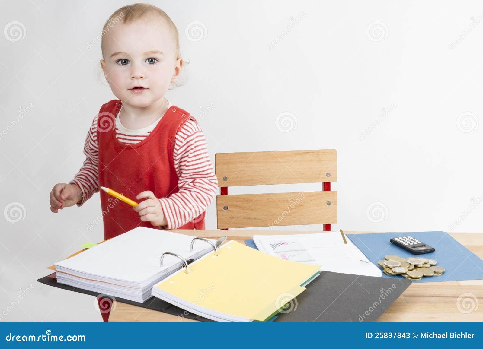 children writing desk
