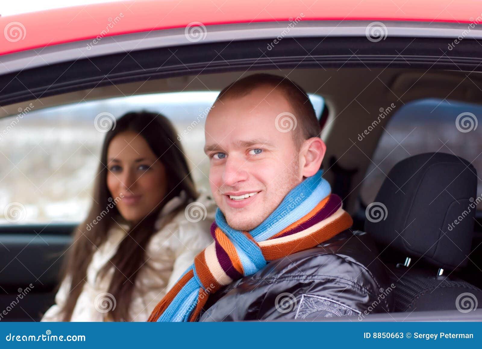 Фото пара в машине 20 фотография