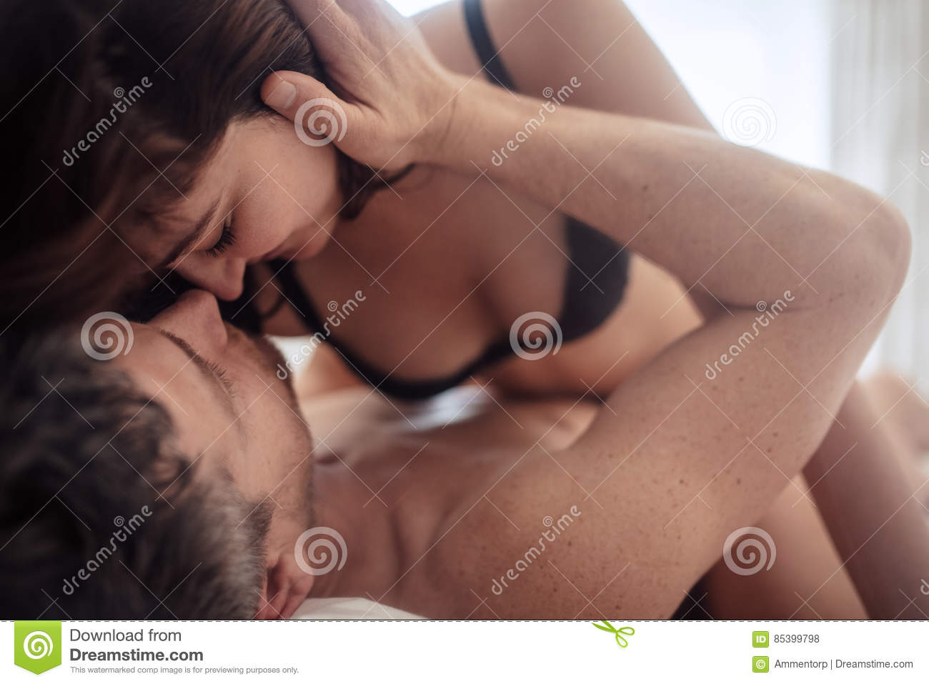 Extended orgasm by kissing