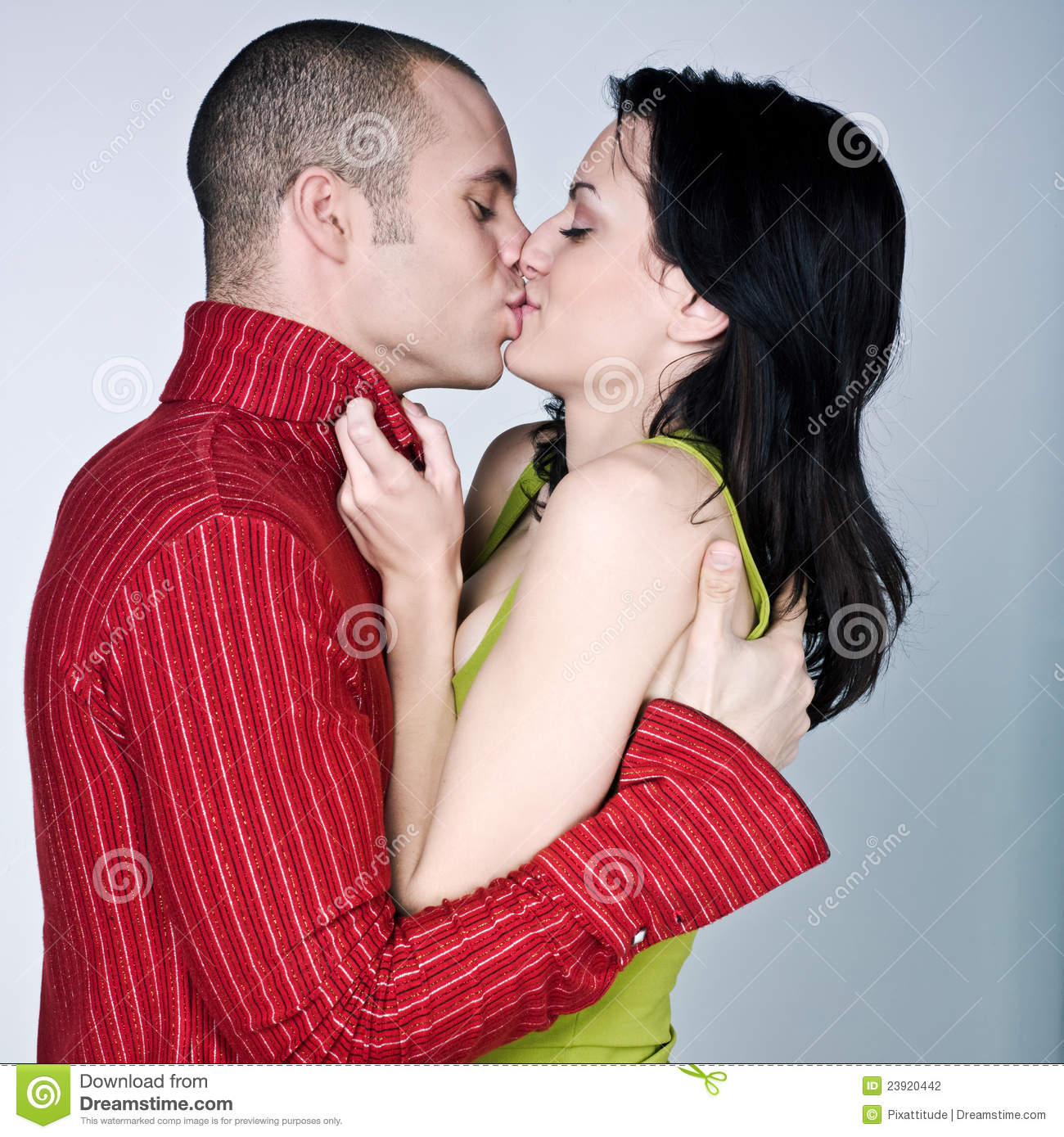 Young couple hugging kissing. Young Couple Hugging Kissing Stock Photography   Image  23920442