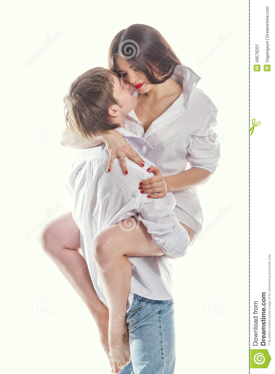 young couple hugging stock photo image 49578201