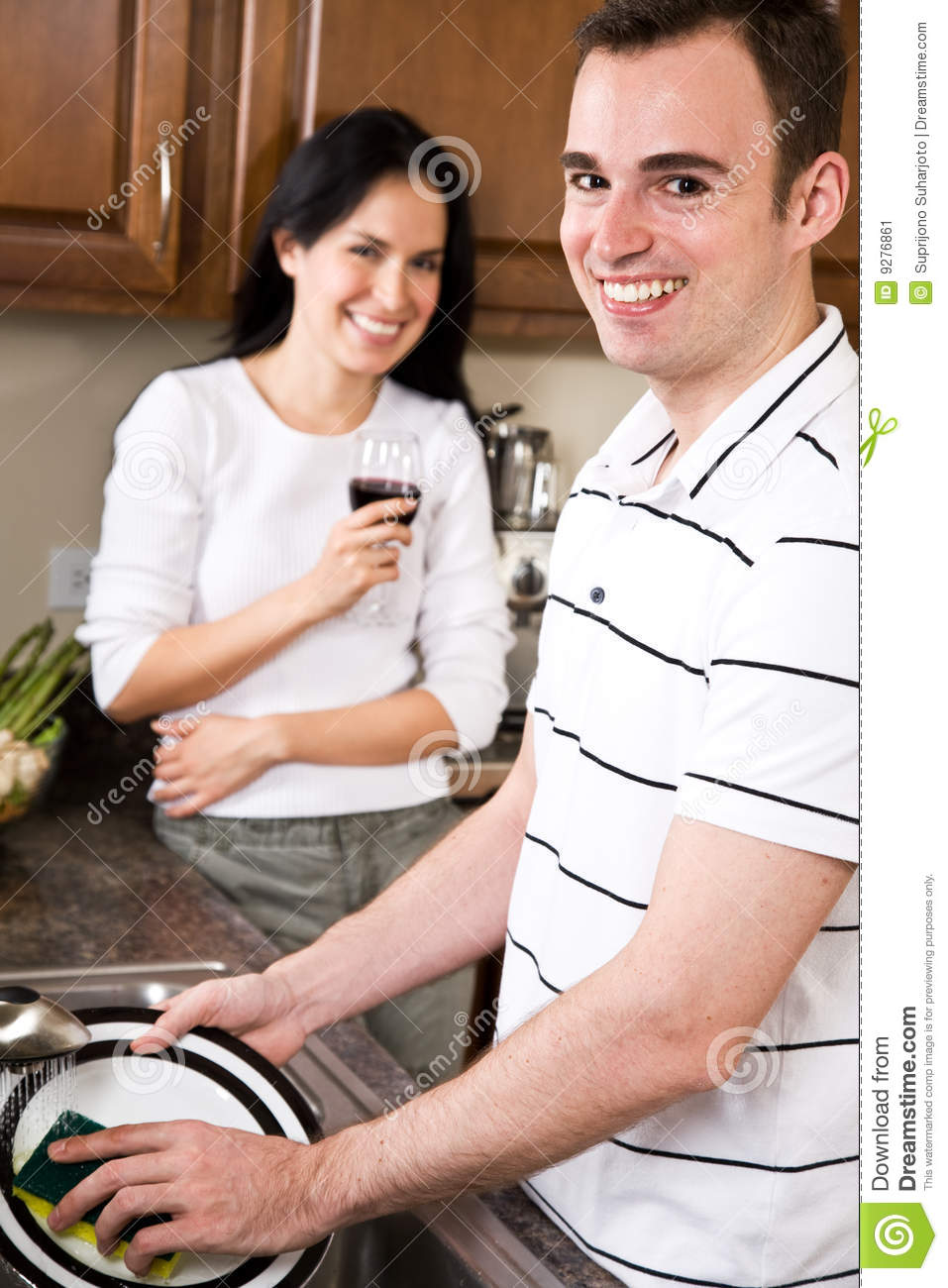 Young couple in the kitchen stock image image 9276861 for Xnxx in the kitchen