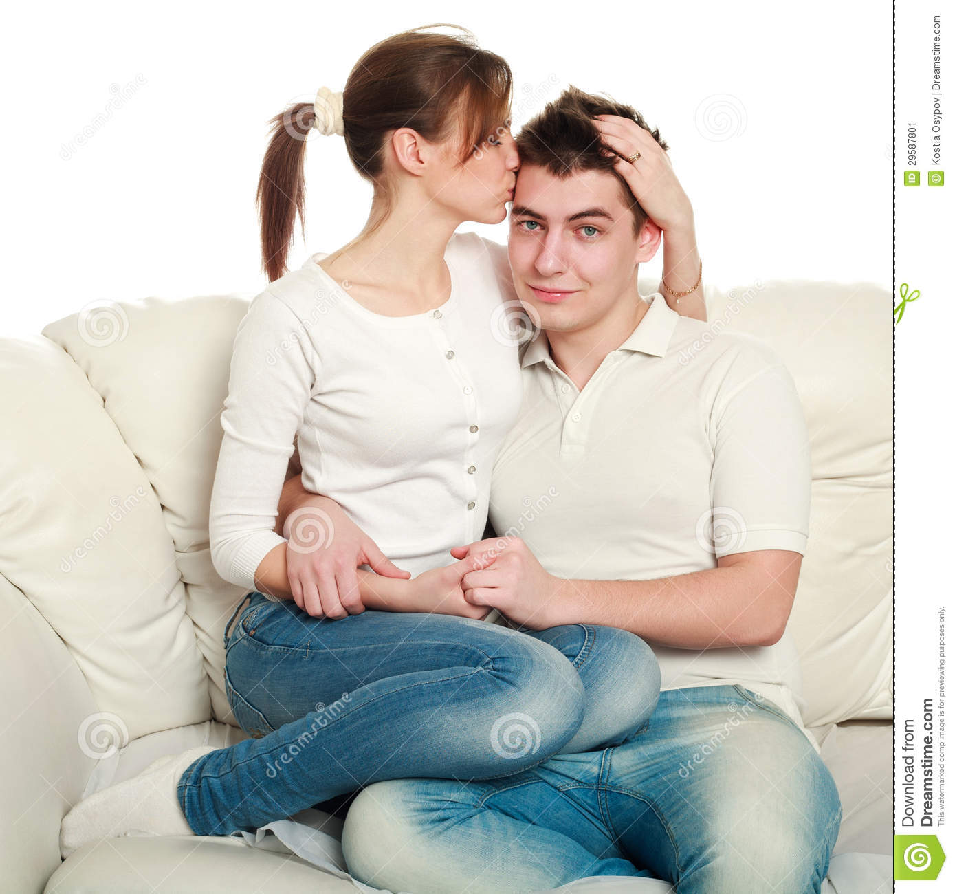 young couple in love stock image image 29587801