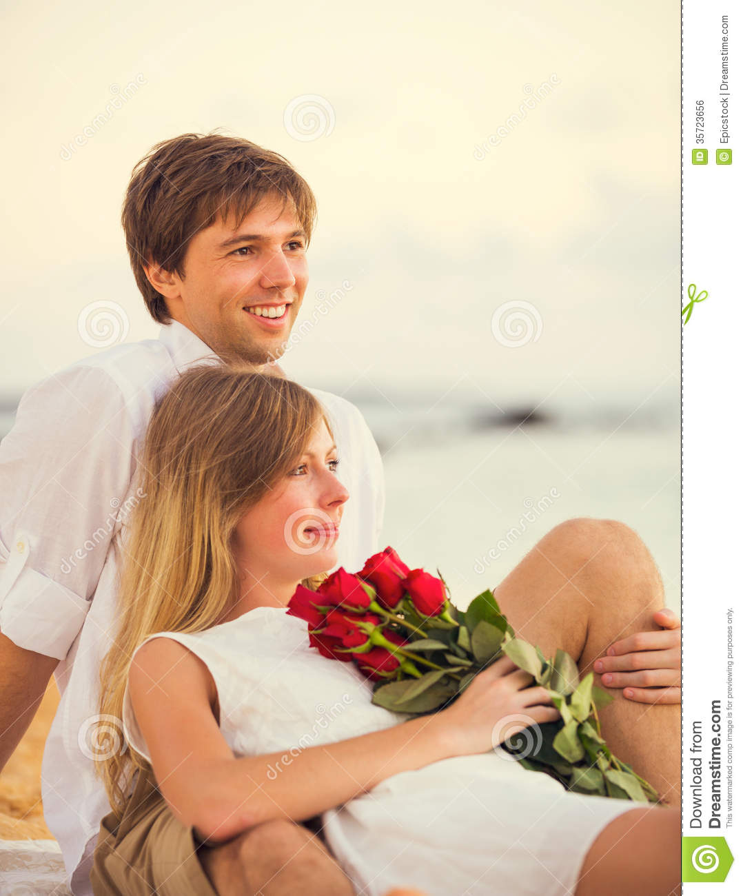 Young Couple In Love Stock Photo. Image Of Relationship