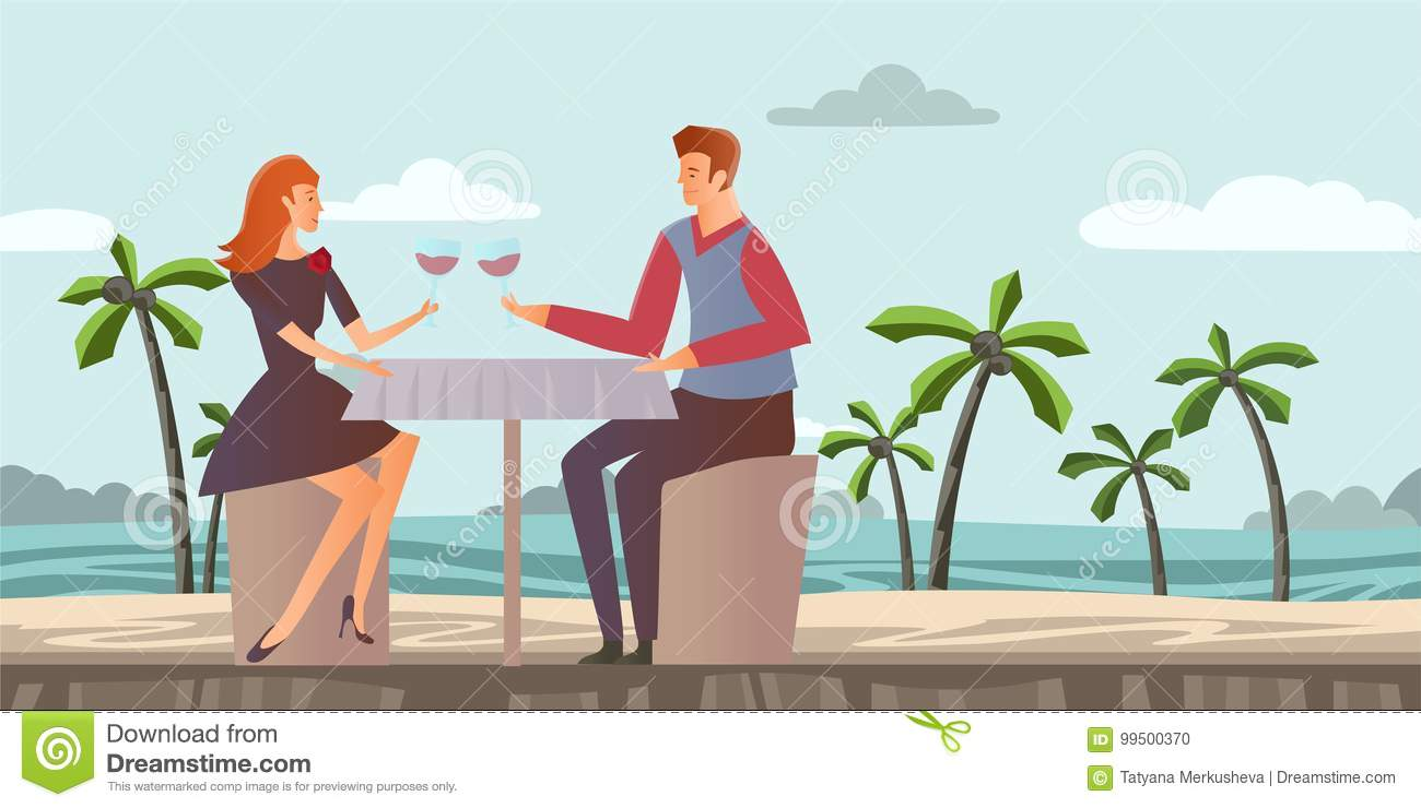 Guy and girl not dating dinner