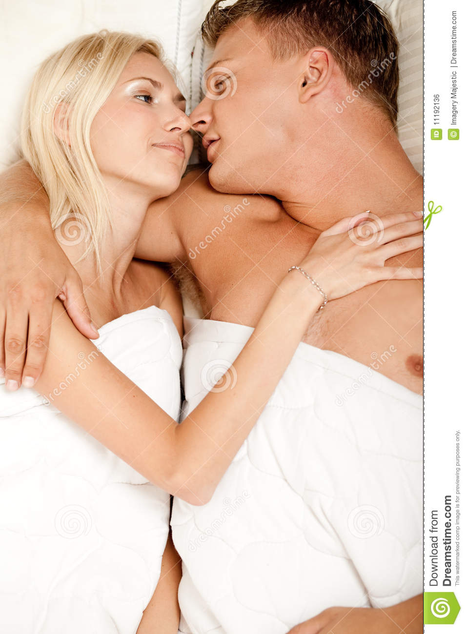 Passionate Love Making Couple