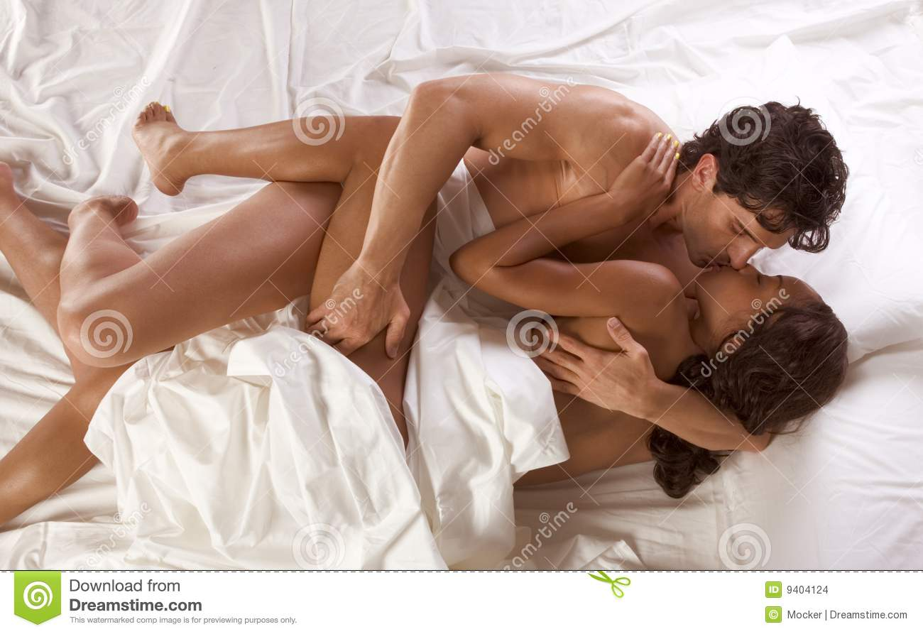 Young Couple Naked Man And Woman Making Love Stock Photo -8904