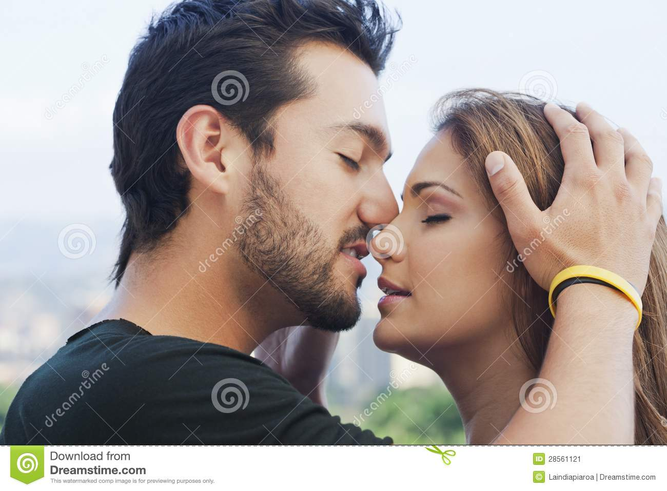 young couple romancing stock image image of image adults 28561121
