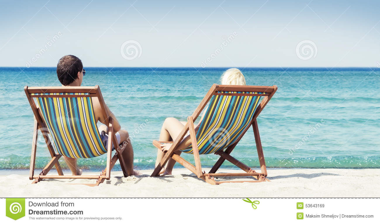 714 Couple Sitting Beach Chairs Photos Free Royalty Free Stock Photos From Dreamstime