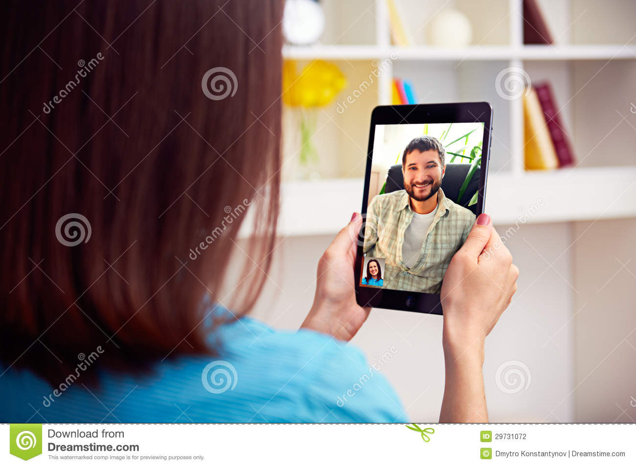 Couples video chat