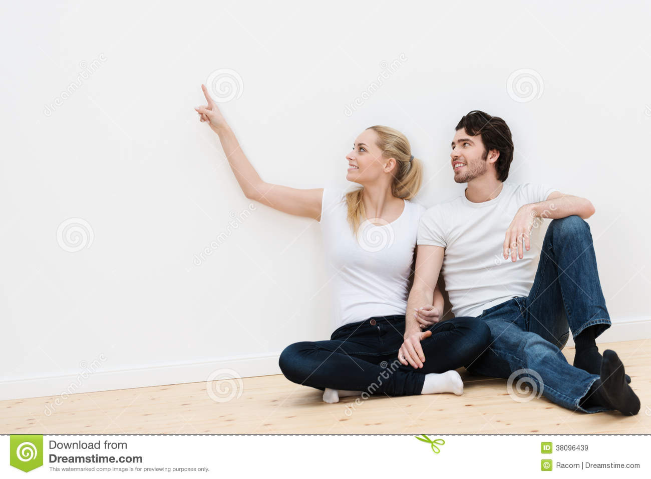 Young couple in their new home royalty free stock images image 38096439 - Young couple modern homes ...