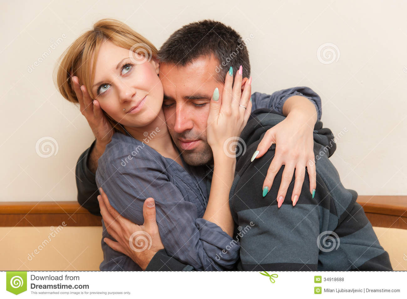 young couple royalty free stock photos image 34918688