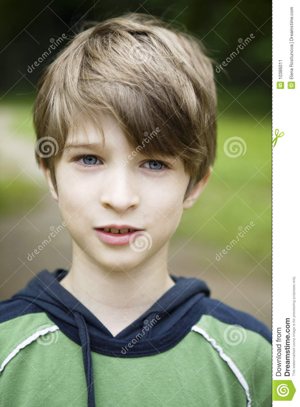 Young Cute Smiling Boy Stock Image. Image Of Children