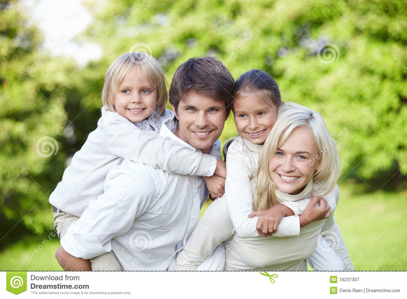 Young families with children outdoors stock image image of little life 16237307 - Houses for families withchild ...