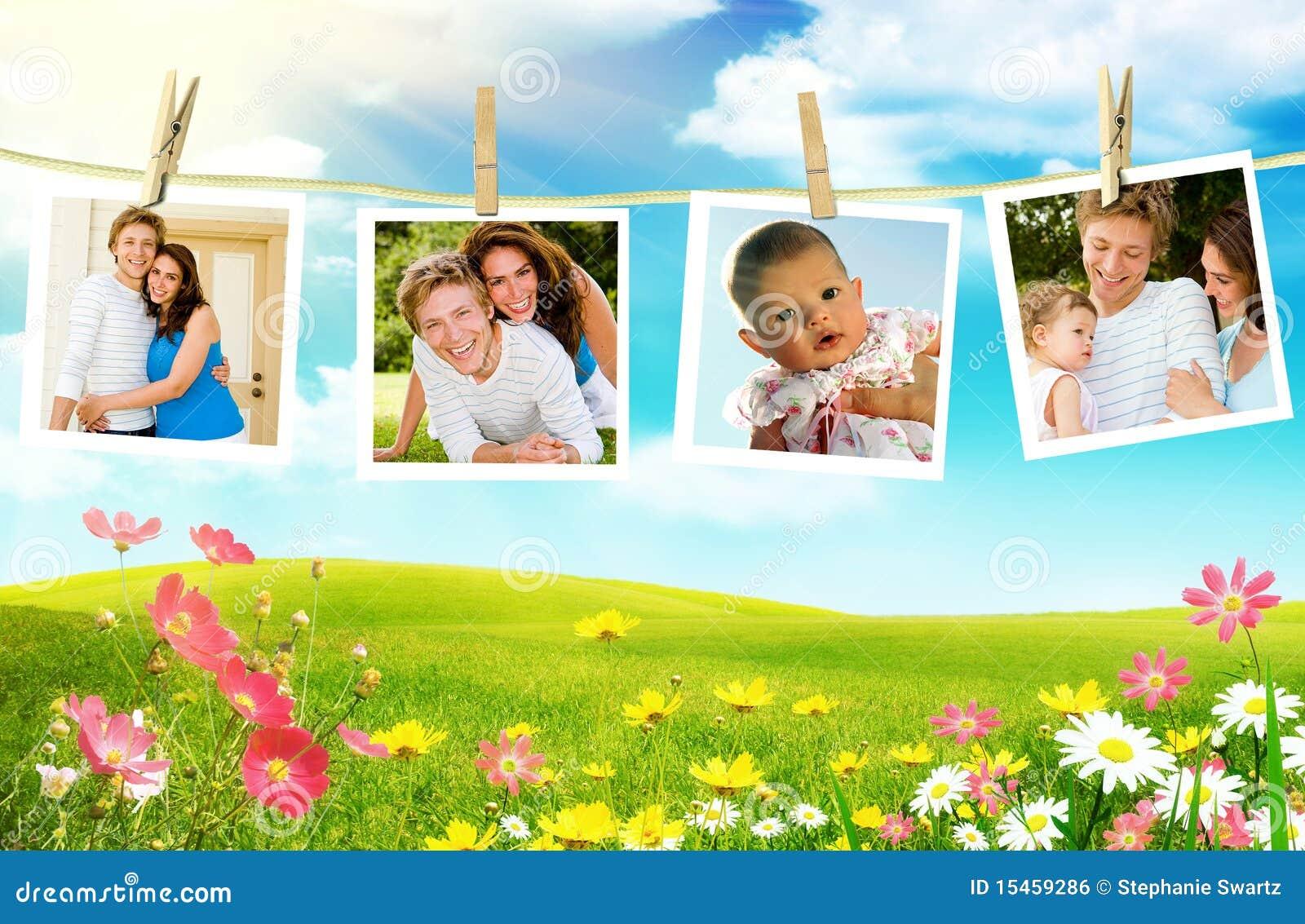 Young family photos
