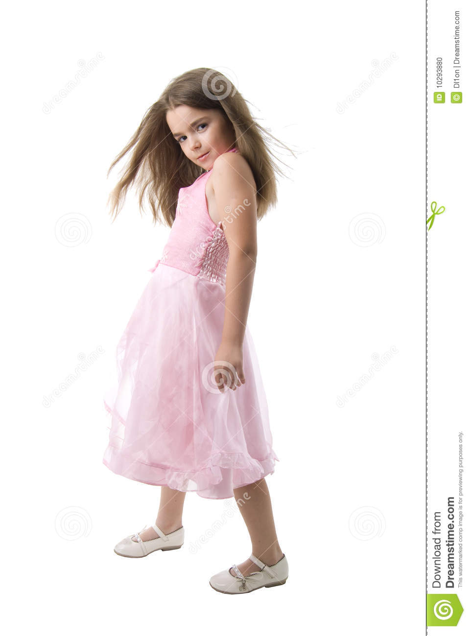 Young Fashion Model Stock Photo Image Of Isolated