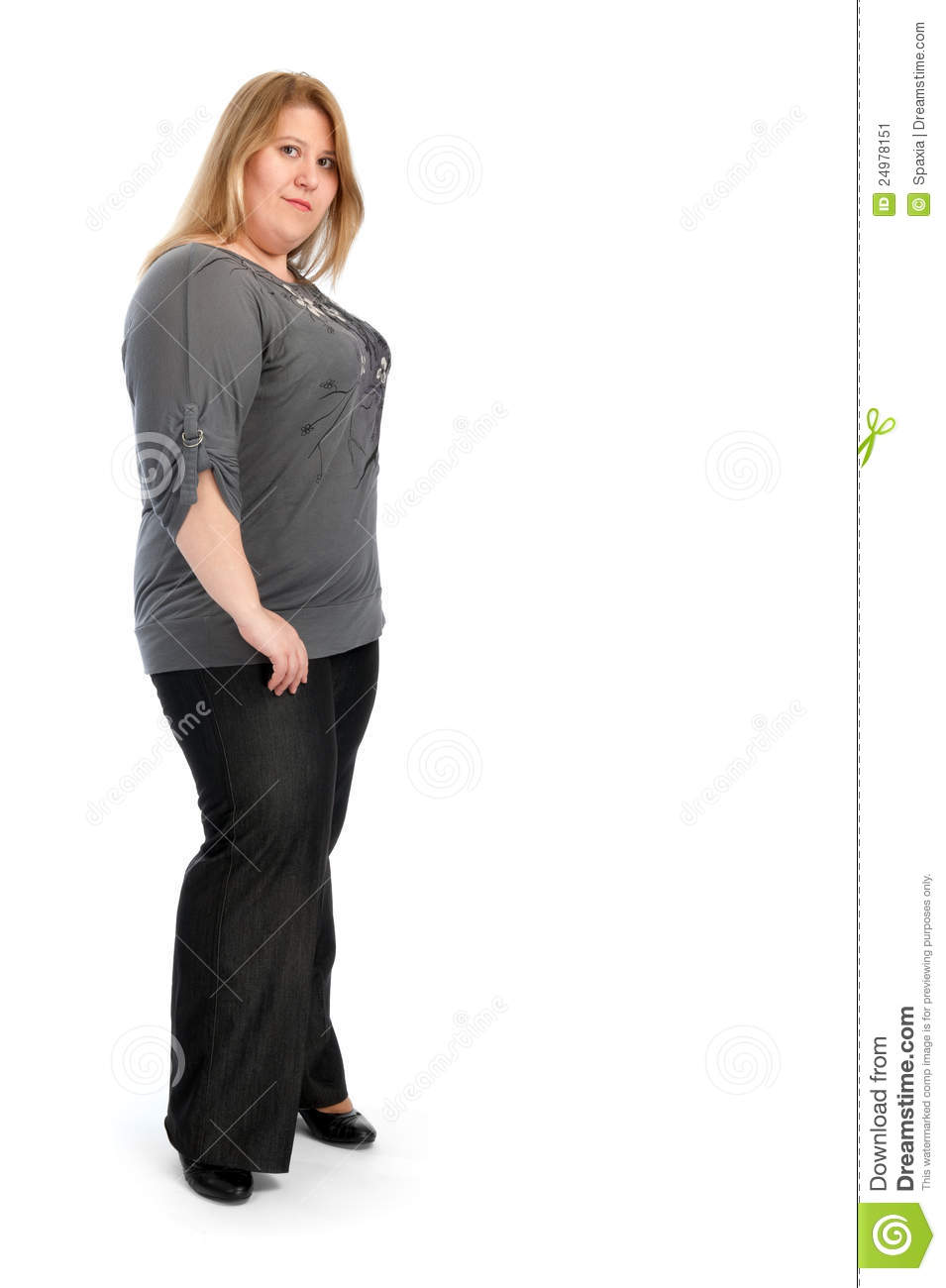 fat woman Young