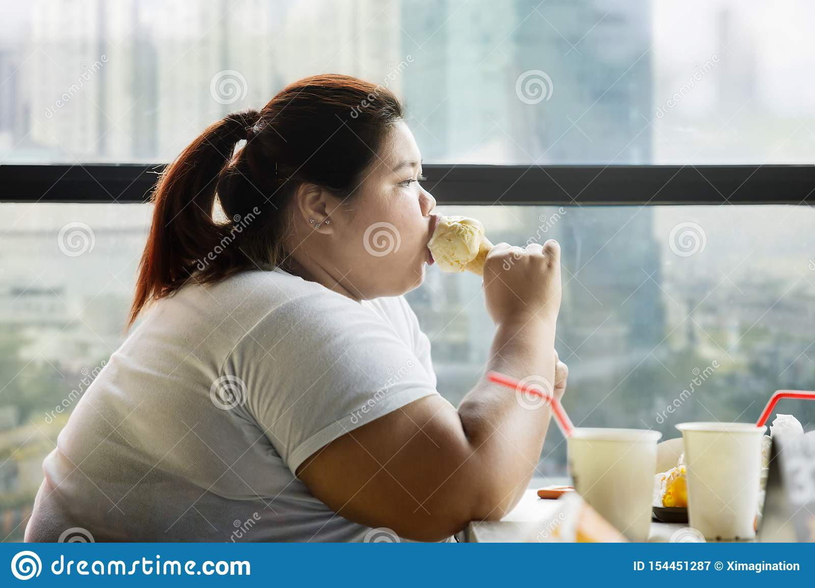 Naked fat girl sundae 4 604 Cafe Cream Eating Ice Photos Free Royalty Free Stock Photos From Dreamstime