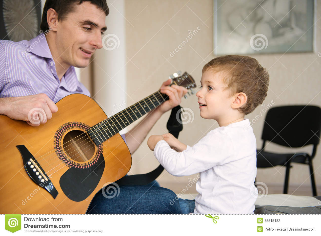 Guitar Lessons: Part 1: Father's Chords & Rhythm