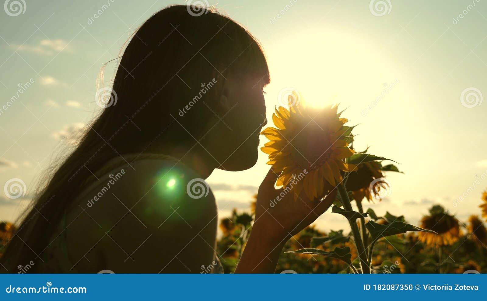 Love /& Sunflowers Girls Sunrise Flares