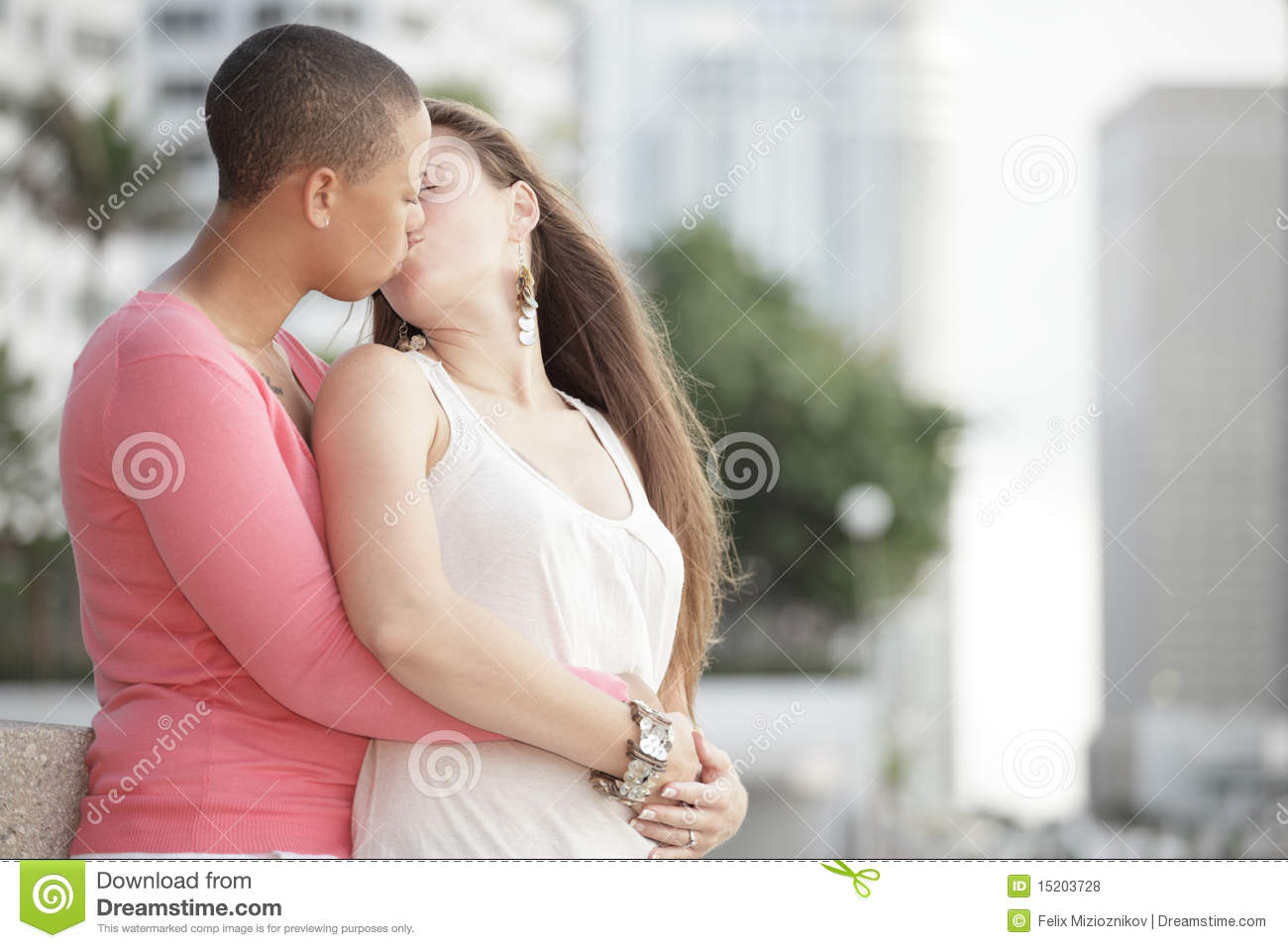 Young Gay Female Couple Kissing Royalty Free Stock Photos ... - photo#27