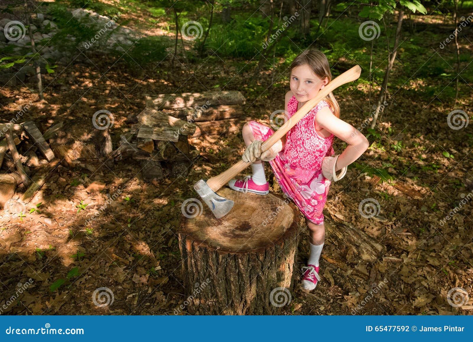 nenets woman cutting firewood - photo #40
