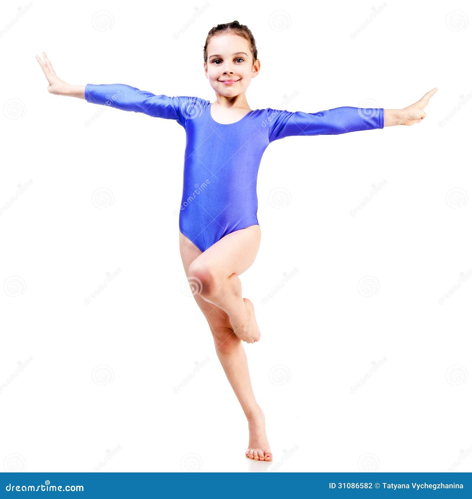 little girl gymnastic секси-ил1