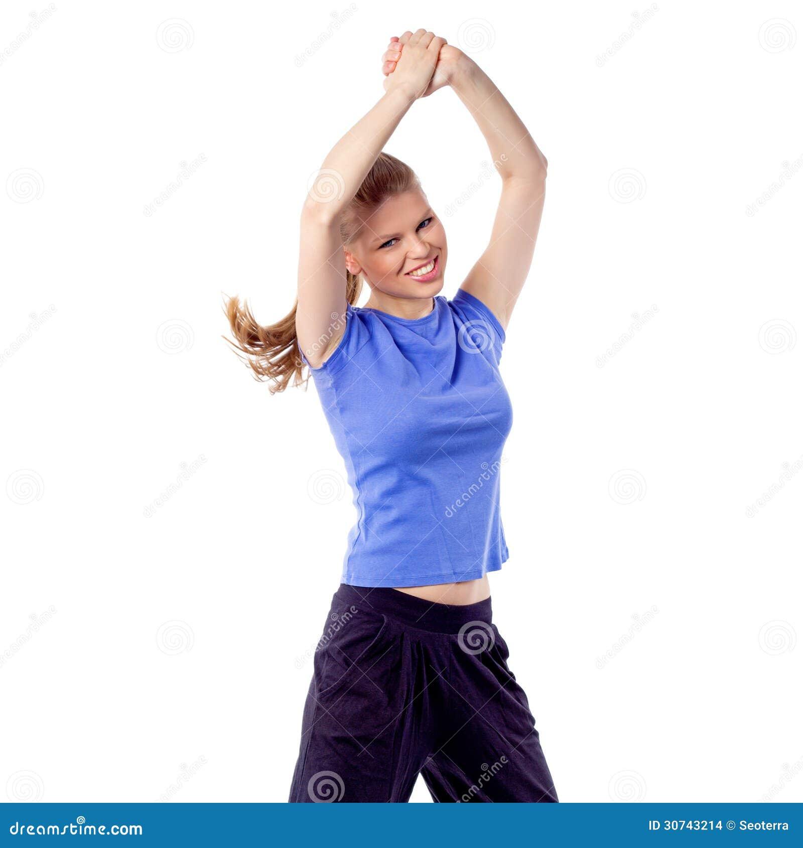 Happy model dance - crakcam&period