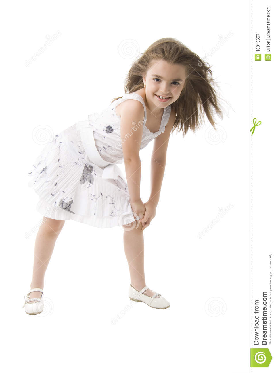 Young Girl Fashion Model. Royalty Free Stock Photography ...