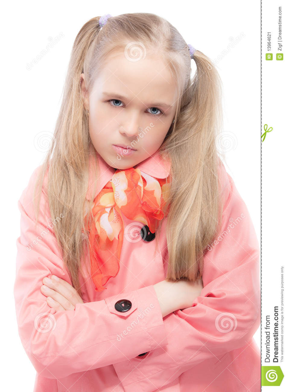 Young girls raincoats question simply