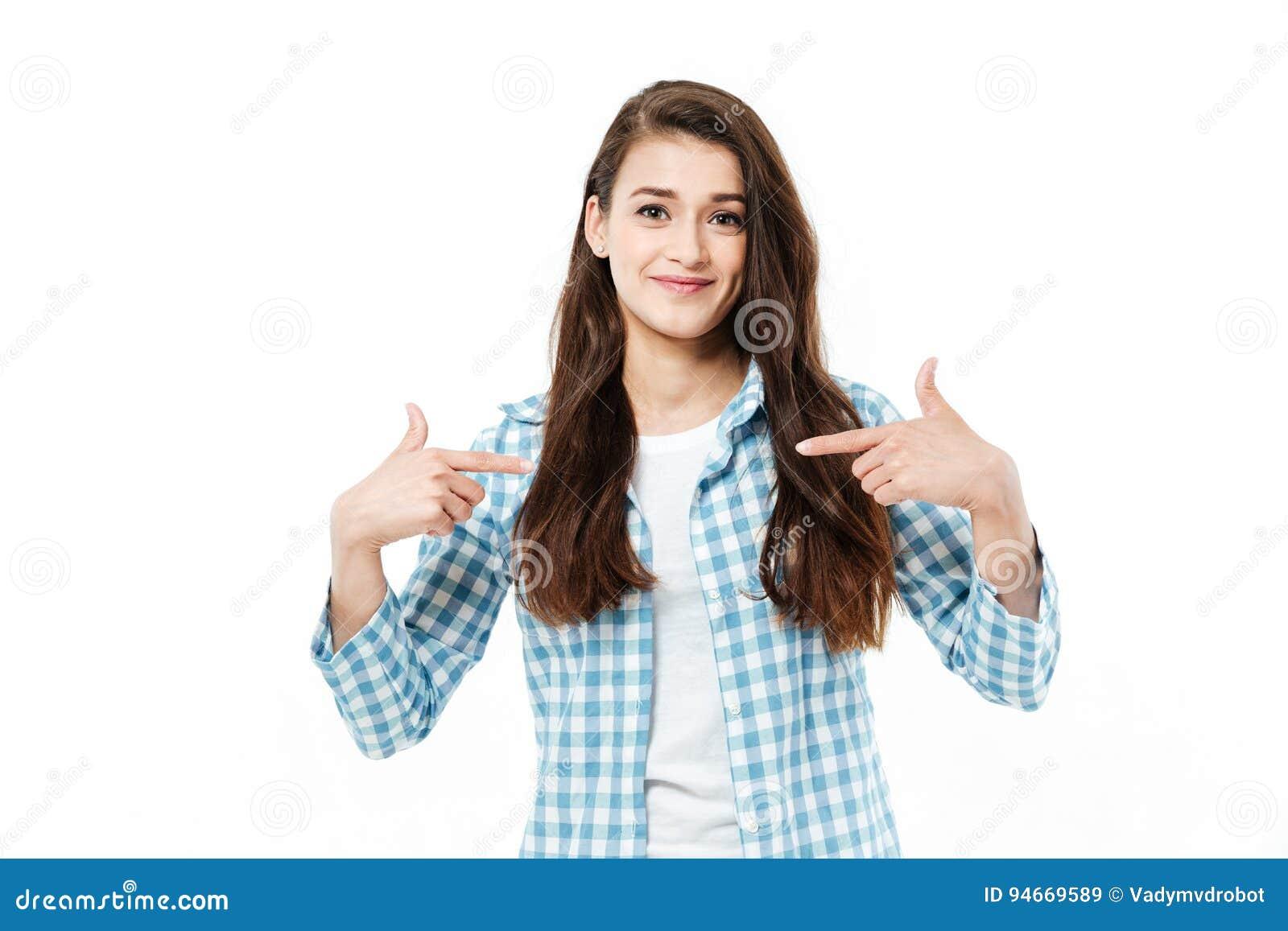 Girl fingers herself
