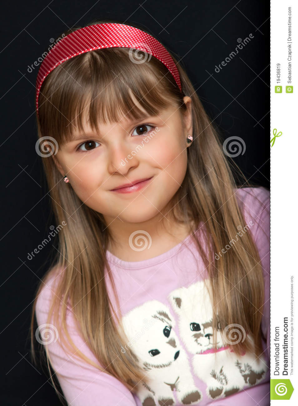 Young Girl Portrait Royalty Free Stock Images - Image