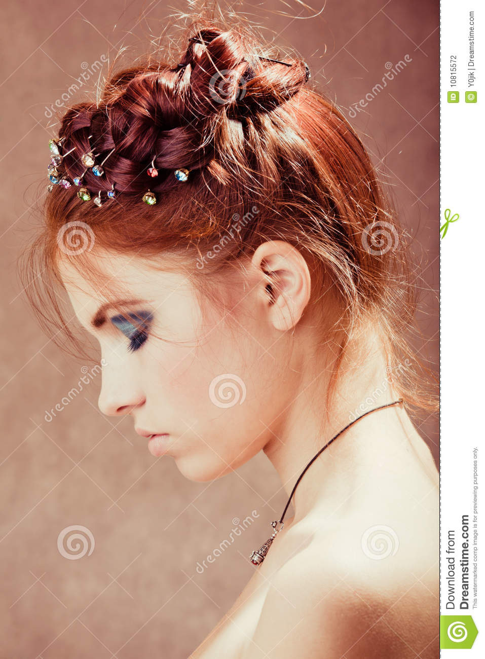 young girl with red hair stock photo image of forest young girl with red hair stock photo image of beautiful