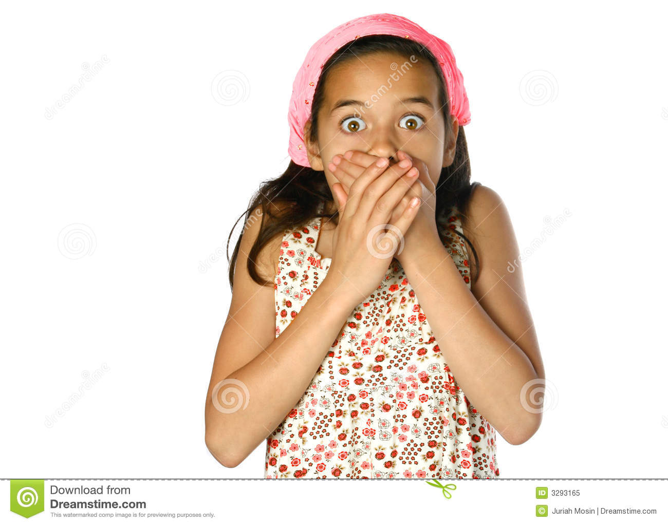 Young girl in shock  Shock