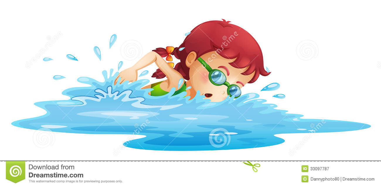 Displaying 20> Images For - Girl Swimming Clipart...