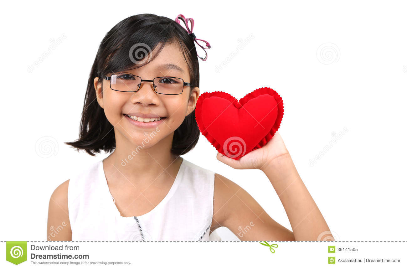 Young Girl Valentine Xi Stock Image Image Of February 36141505