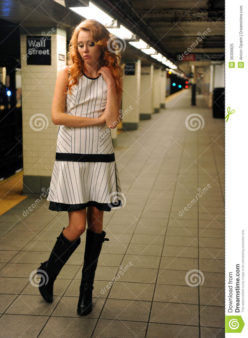 girl on the train nyc