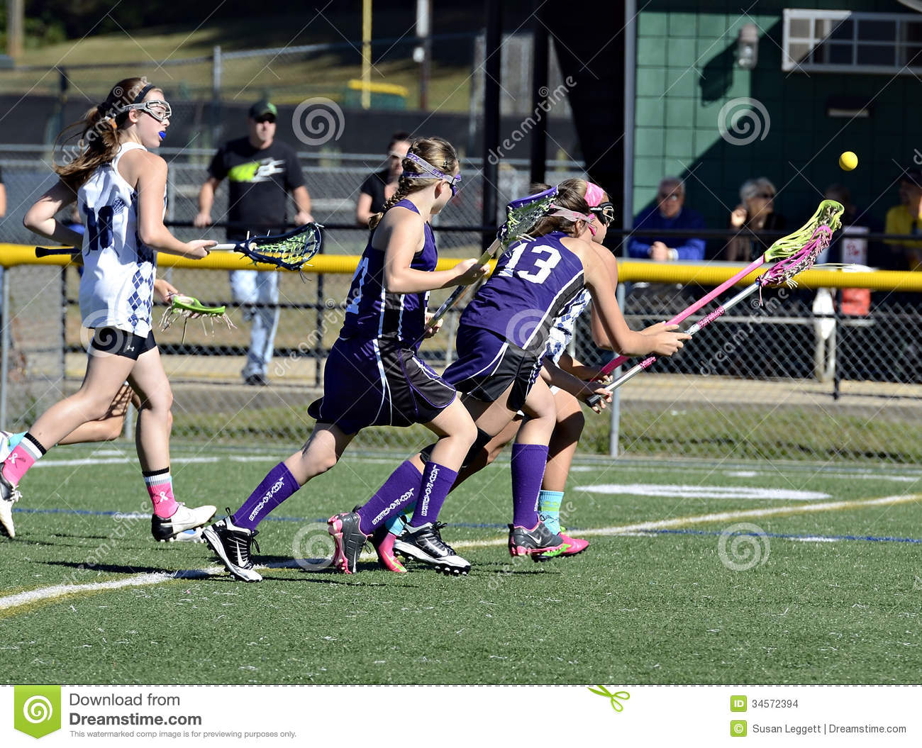 Young Girls Lacrosse Editorial Stock Image Image Of Preteen - 34572394-9698
