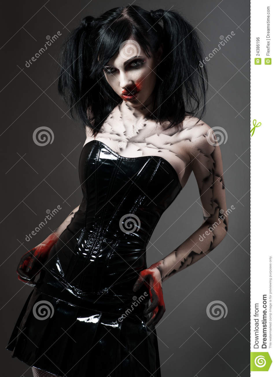 Teen costume goth halloween