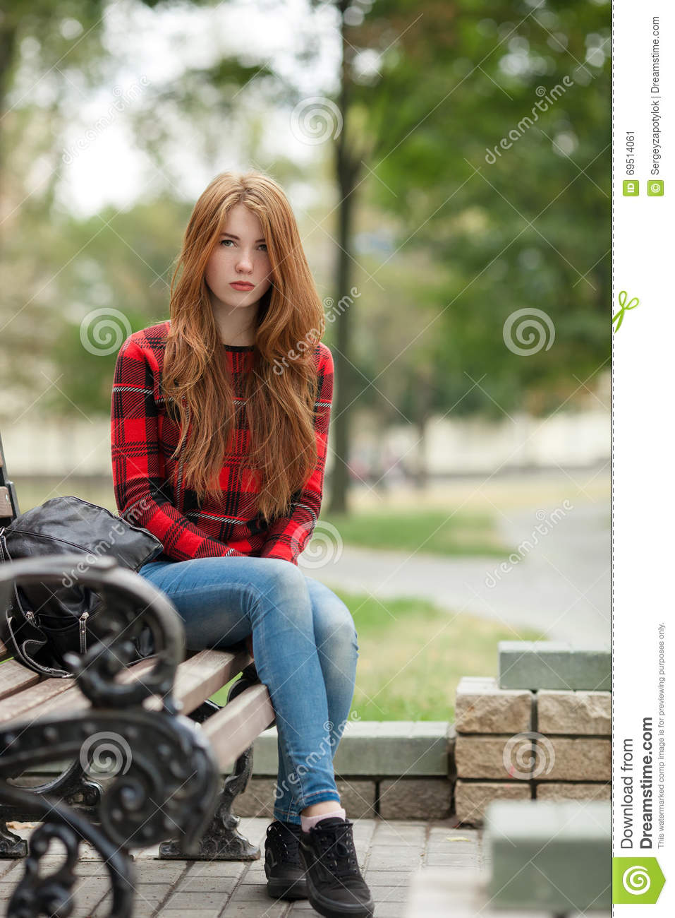 Question something redhead on bench