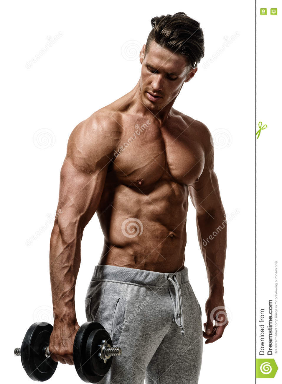 Macho gay muscle men