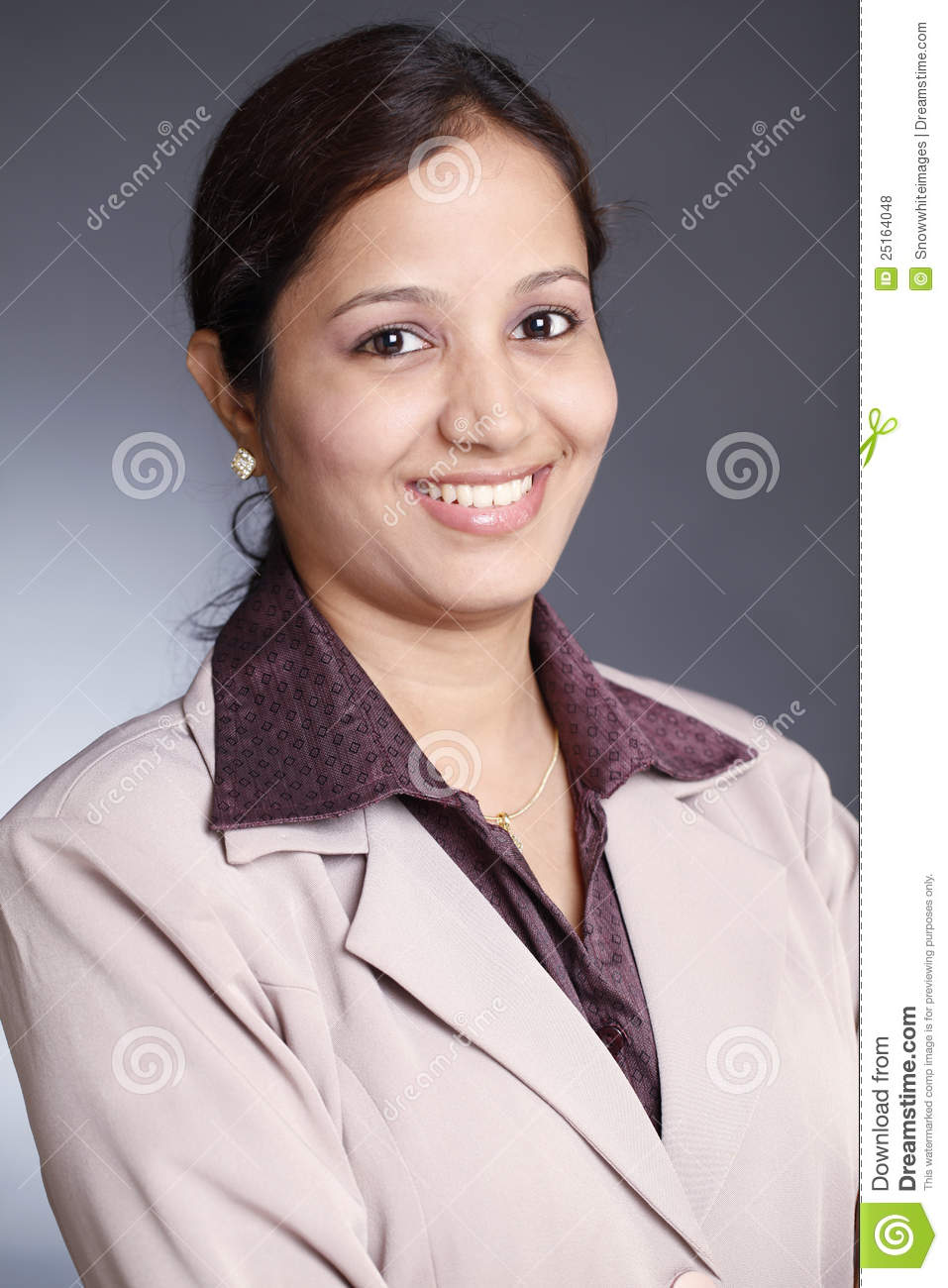 young indian business woman royalty free stock photos