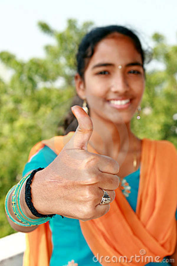 indian girl thumb