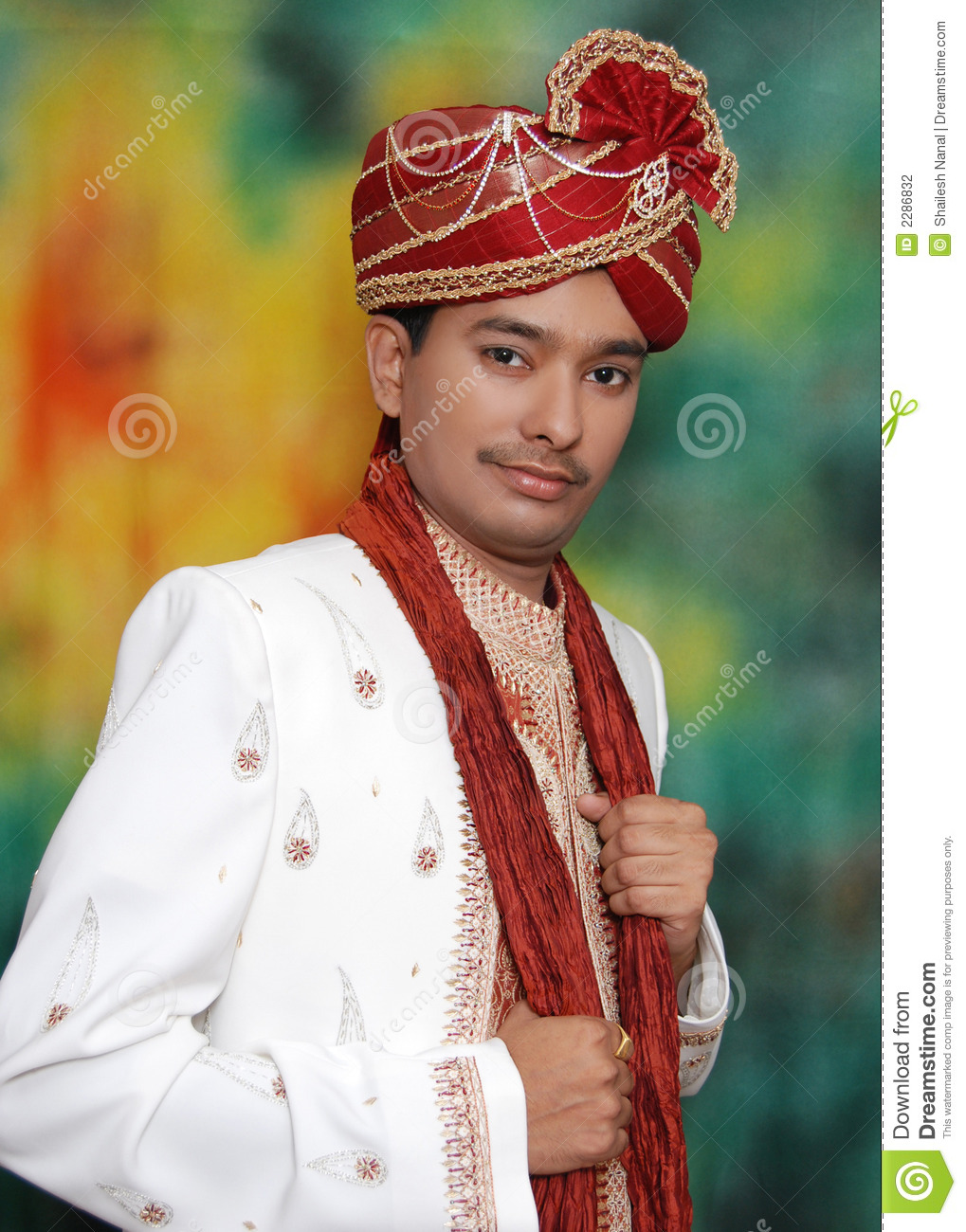 indian prince young dress teenager traditional preview orange dreamstime