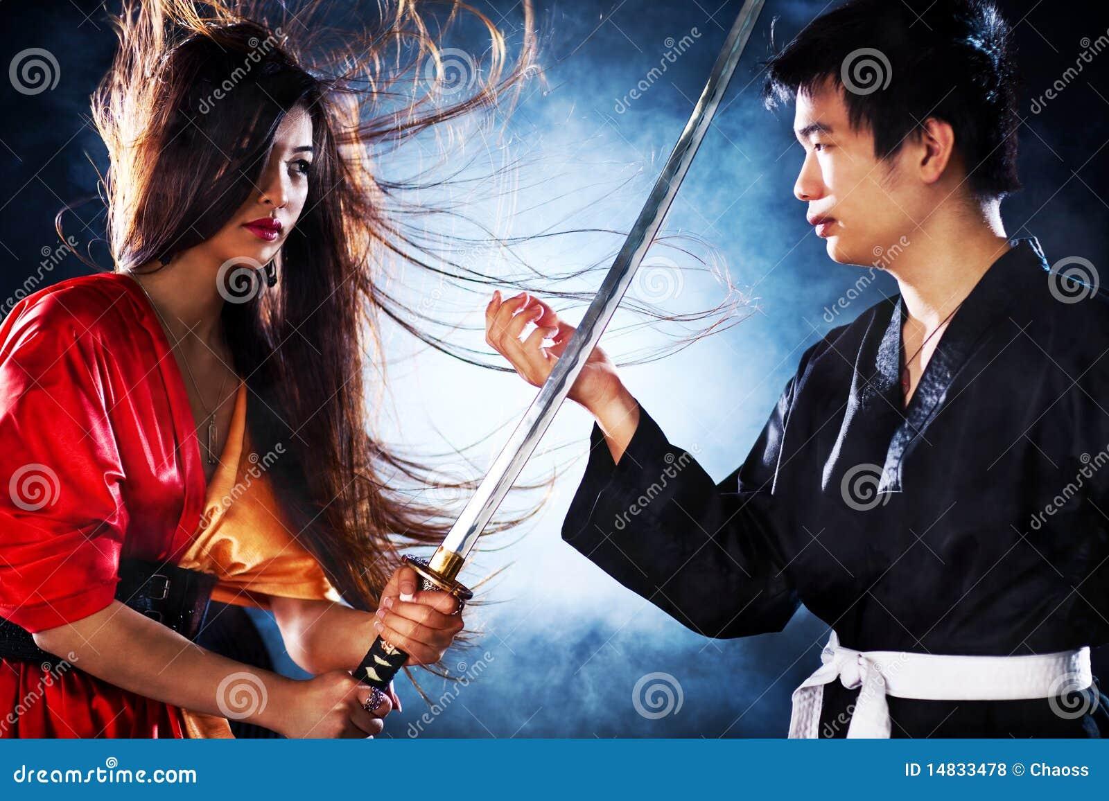 couple fighting movie scene