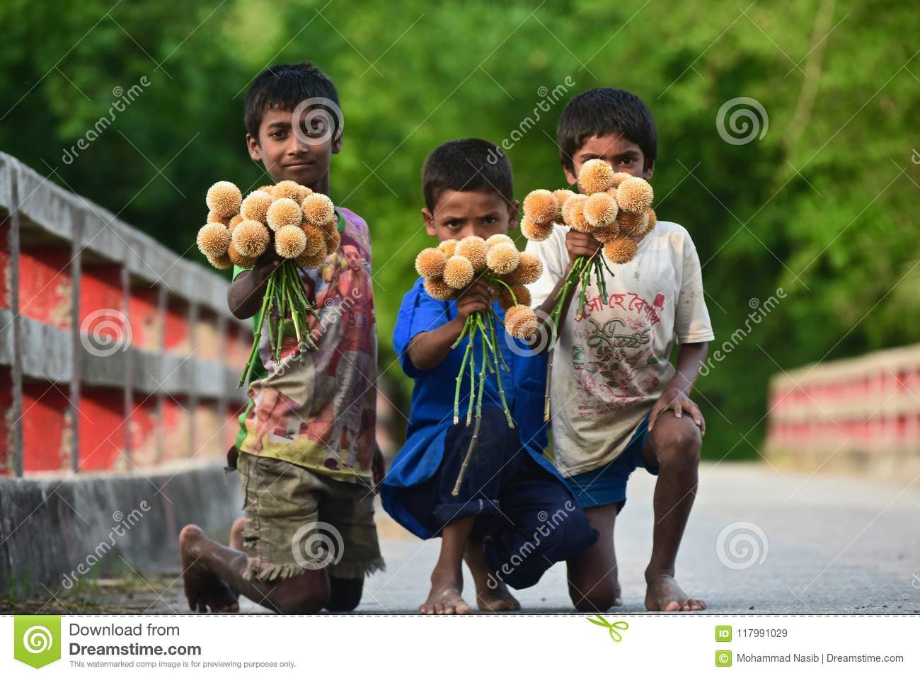 Download Young Kid Is Selling Flowers On The Street - Stop Child Labor Editorial Stock Image - Image of shirt, labor: 117991029
