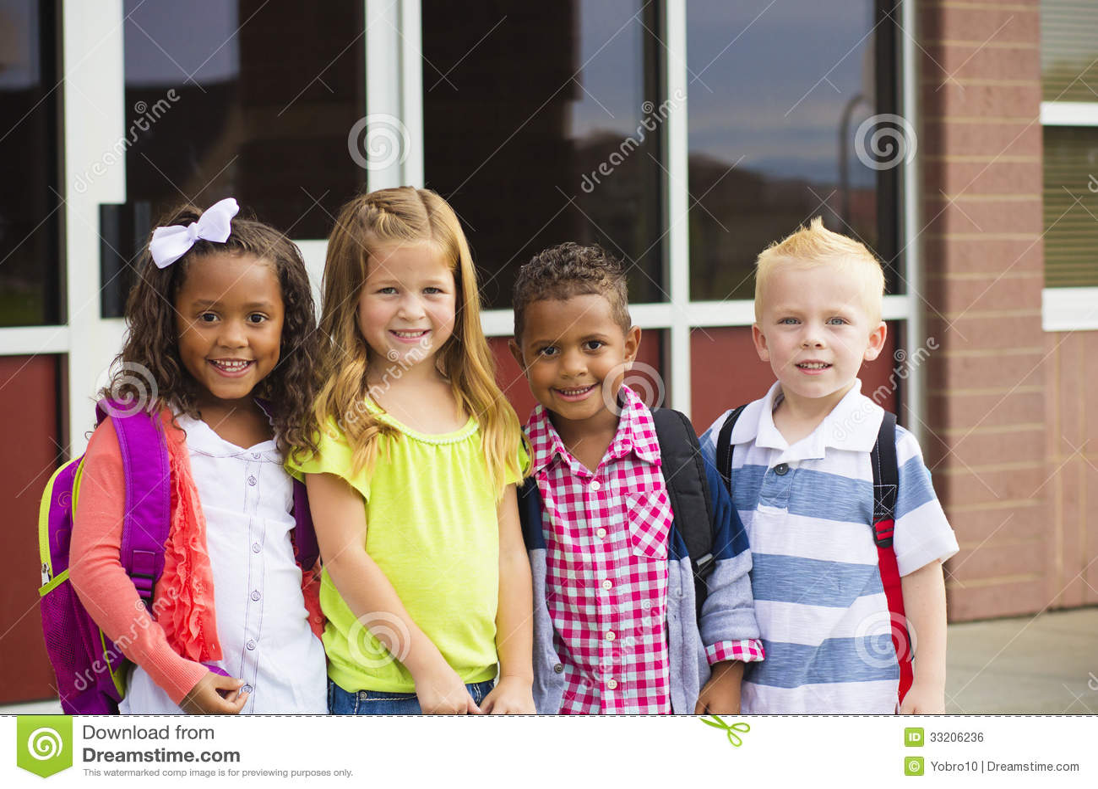 when do kids go to preschool going to school stock photo image of grade 851