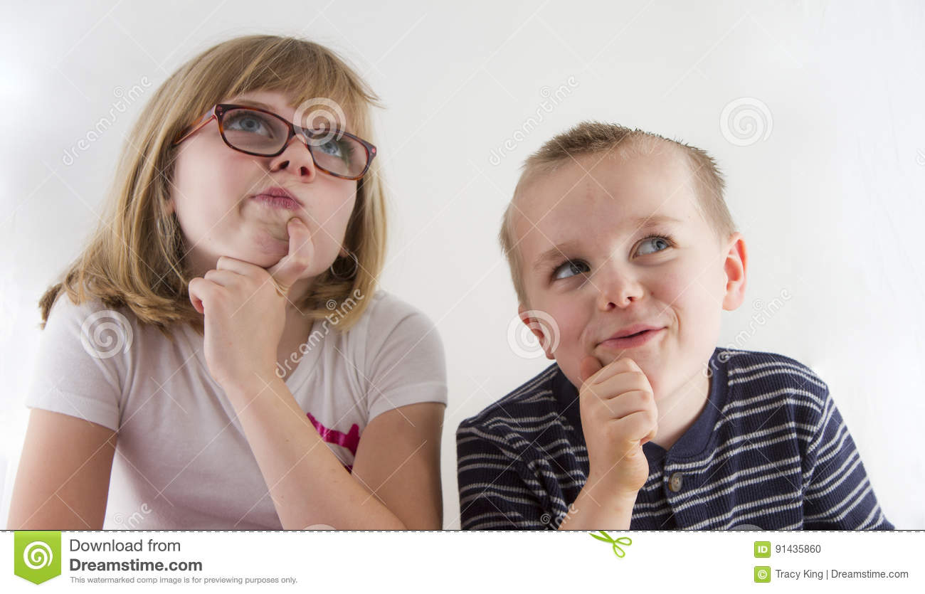 Kids Thinking Stock Images - Download 5,381 Royalty Free ...